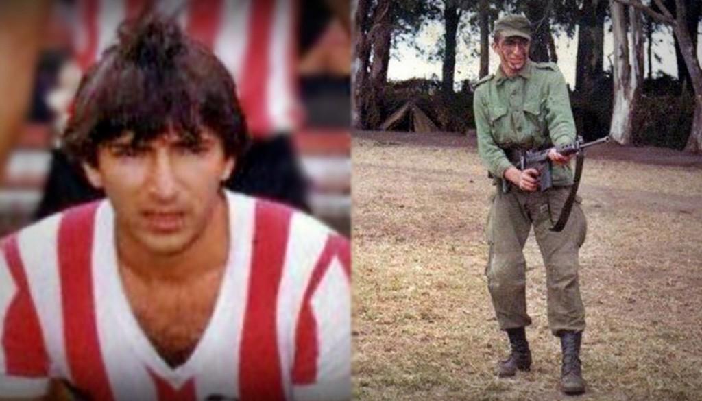 Juani: do uniforme do Estudiantes à farda de soldado. Há 35 anos, ele estava prestes a se tornar profissional pelo Estudiantes, mas teve de trocar a bola por um fuzil para lutar contra os inglesesArquivo pessoal