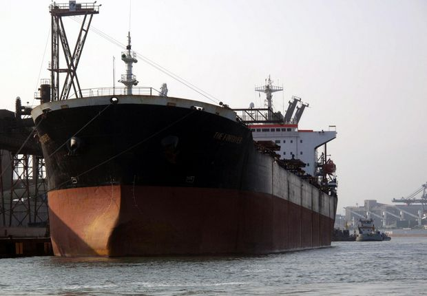 Calado é a altura da parte do casco do navio que permanece submersa (Foto: Luigi Bongiovanni/AT)