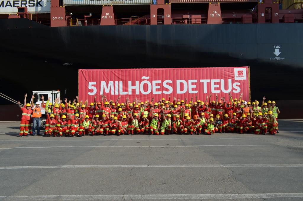 5 milhões de TEUs_colaboradores Portonave