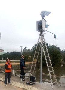 O equipamento foi adquirido através de um convênio entre a Prefeitura – Coordenadoria Municipal de Defesa Civil e o Centro Nacional de Monitoramento e Alertas de Desastres Naturais (Cemaden), que monitora os dados coletados pela nova plataforma, emitindo alertas para o município